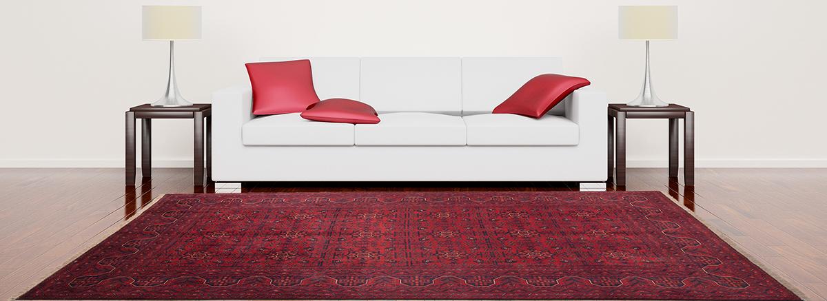 Orientaliska mattor från Afghanistan